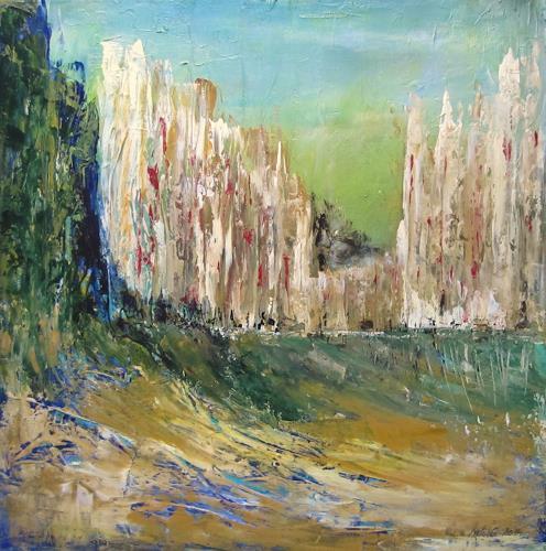 U.v.Sohns, noch o.T., Diverse Bauten, Diverse Landschaften, Abstrakte Kunst, Expressionismus