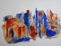 U.v.Sohns-Diverse-Bauten-Krieg-Moderne-Abstrakte-Kunst