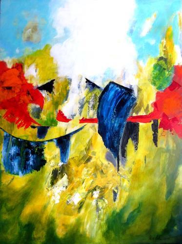 U.v.Sohns, spirit of summer, Zeiten: Sommer, Diverse Gefühle, Gegenwartskunst, Abstrakter Expressionismus