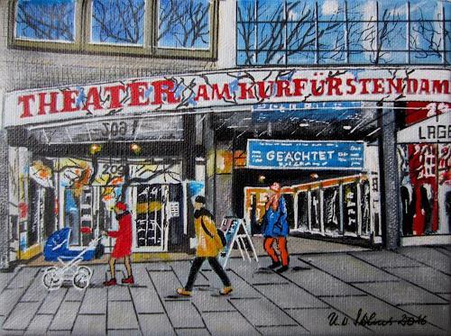 U.v.Sohns, Theater am Kurfürstendamm, Diverse Bauten, Freizeit, Realismus, Expressionismus