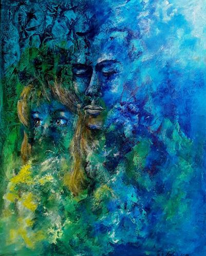 U.v.Sohns, sentimenti, Gefühle, Menschen: Paare, Expressionismus, Abstrakter Expressionismus