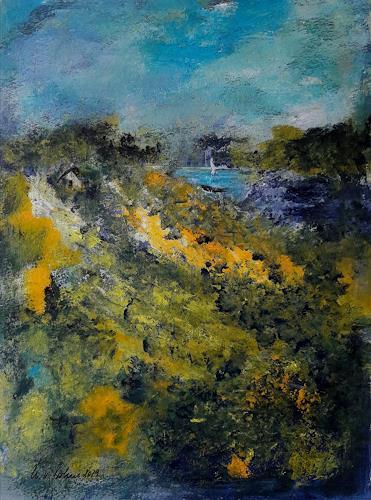 U.v.Sohns, dem Paradies so nah, Diverse Landschaften, Abstraktes, Abstrakte Kunst