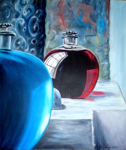 U.v.Sohns, Parfum, Dekoratives, Stilleben, Gegenwartskunst
