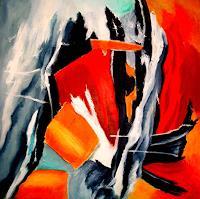 U.v.Sohns-Abstraktes-Fantasie-Moderne-Abstrakte-Kunst