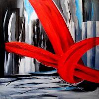 U.v.Sohns-Symbol-Abstraktes-Moderne-Abstrakte-Kunst