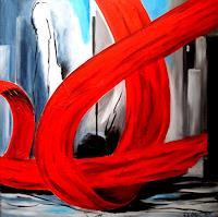 U.v.Sohns-Gefuehle-Geborgenheit-Abstraktes-Moderne-Abstrakte-Kunst