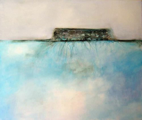 Markus Schon, Black Ice, Abstraktes
