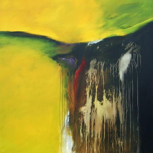 Markus Schon, Slip away, Abstraktes, Expressionismus