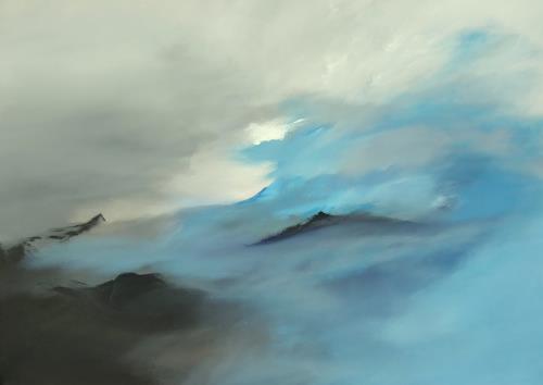 Markus Schon, Comming back to life, Abstraktes, Diverse Landschaften, Abstrakter Expressionismus, Expressionismus