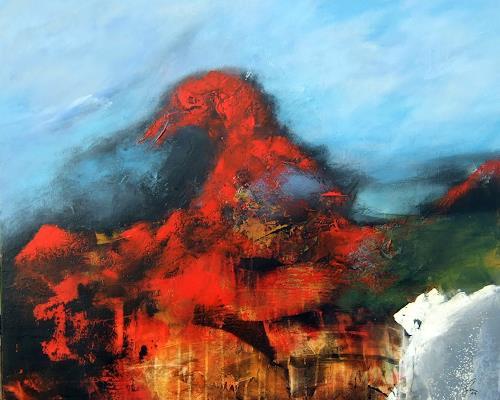 Markus Schon, The Raven, Abstraktes, Abstrakter Expressionismus