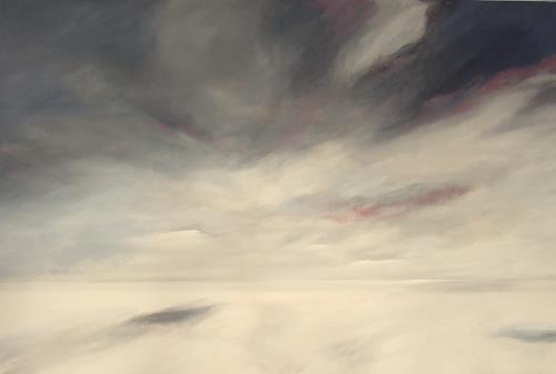 Markus Schon, Hands and Clouds, Abstraktes, Abstraktes, Abstrakter Expressionismus