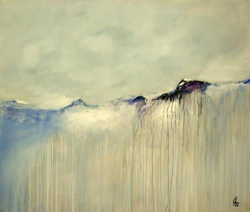 Markus Schon, Icy silence, Abstraktes, Expressionismus