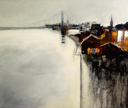 Markus Schon, High tide, Abstraktes, Expressionismus