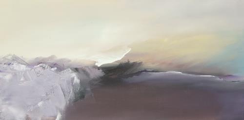 Markus Schon, Here comes the flood, Abstraktes, Diverse Landschaften, Abstrakter Expressionismus, Expressionismus
