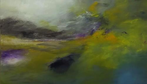 Markus Schon, Not to be forgotten, Landschaft, Abstrakte Kunst
