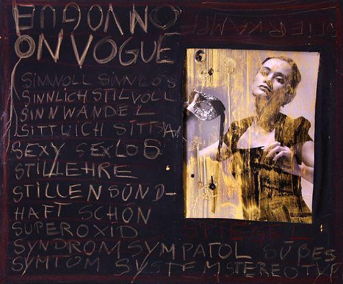 Bohin, ON VOUGUE, Fashion, Menschen: Frau, Gegenwartskunst, Abstrakter Expressionismus