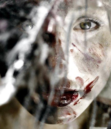 Bohin, Weißes Blut, Gefühle: Angst, Symbol, Gegenwartskunst, Abstrakter Expressionismus