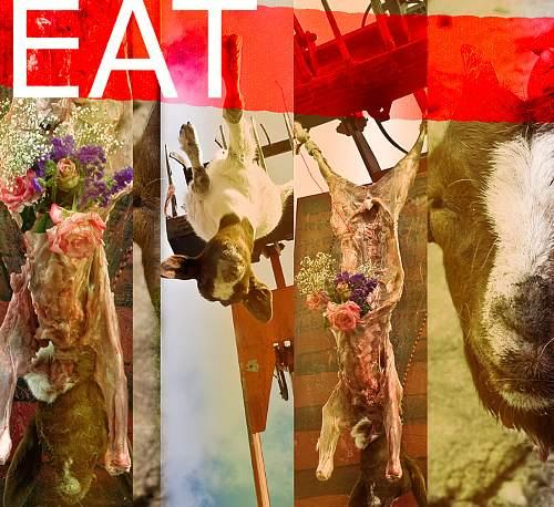 Bohin, Meat, Stilleben, Markt, Gegenwartskunst