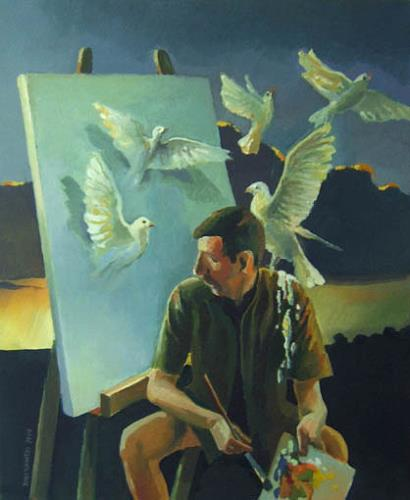 Gregor Ziolkowski, INGRATITUDE, Humor, Menschen: Porträt, Surrealismus