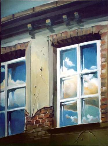Gregor Ziolkowski, IN CLOSED WINDOWS, Bauten: Haus, Diverse Romantik, Impressionismus