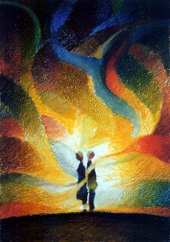 Gregor Ziolkowski, HIDDEN FEELINGS, Gefühle: Liebe, Diverse Romantik, Expressionismus