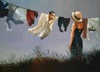 Gregor-Ziolkowski-Menschen-Landschaft-Sommer-Moderne-Avantgarde-Surrealismus