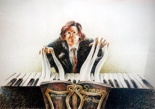 Gregor Ziolkowski, PIANIST, Musik: Musiker, Humor, Surrealismus