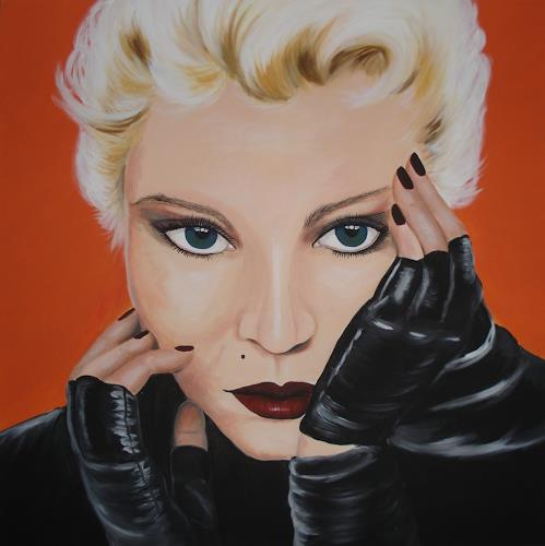 Andrea Bräuning, Madonna, Menschen: Gesichter, Pop-Art, Abstrakter Expressionismus