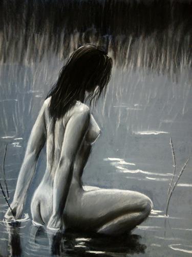 Andrea Bräuning, das Bad, Menschen, Realismus