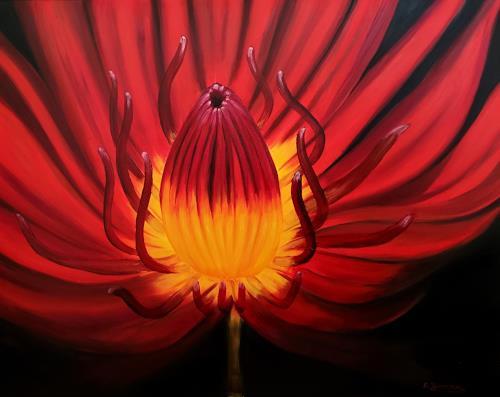 Andrea Bräuning, Flower, Pflanzen, Pflanzen: Blumen, Realismus