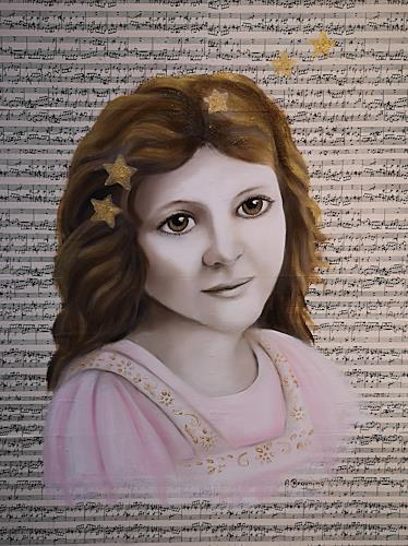 Andrea Bräuning, Sternensynphonie, Menschen: Porträt, Symbol, Realismus