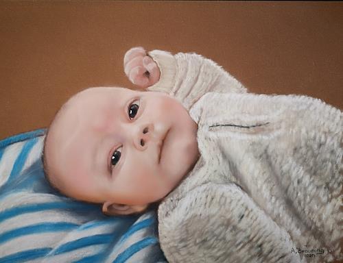 Andrea Bräuning, Auftrag, Menschen, Menschen: Kinder, Realismus, Expressionismus
