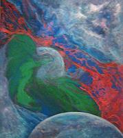 Nacka-Abstraktes-Fantasie-Moderne-Symbolismus