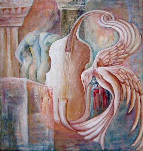 Nacka, Bolero, Abstraktes, Action Painting