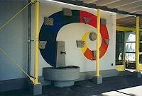 E. Ghenzi, Kindergarten Brunnen mit 4 Jahreszeiten 4 Elemente