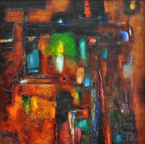 Sergey Ignatenko, Overlighting, Abstraktes, Gegenwartskunst