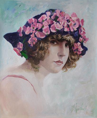 Sergey Ignatenko, French girl, Menschen: Porträt, Menschen: Frau