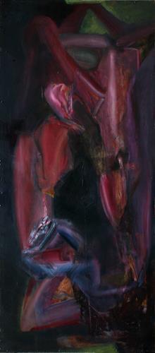Simon Schade, Frau 2, Akt/Erotik: Akt Frau, Bewegung, Gegenwartskunst