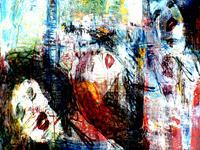 Lee-Eggstein-Menschen-Frau-Gefuehle-Moderne-Expressionismus-Abstrakter-Expressionismus