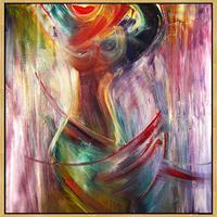 Lee-Eggstein-Menschen-Menschen-Frau-Moderne-Expressionismus-Abstrakter-Expressionismus