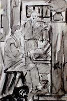 Lee Eggstein, am Klavier