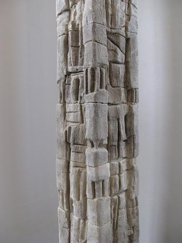 Bernard Jensch, TOTEM 12-01-13, Abstraktes, Abstraktes, Abstrakte Kunst, Abstrakter Expressionismus