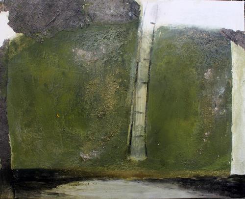 Ina Kunz, o.T., Landschaft, Abstrakte Kunst, Abstrakter Expressionismus
