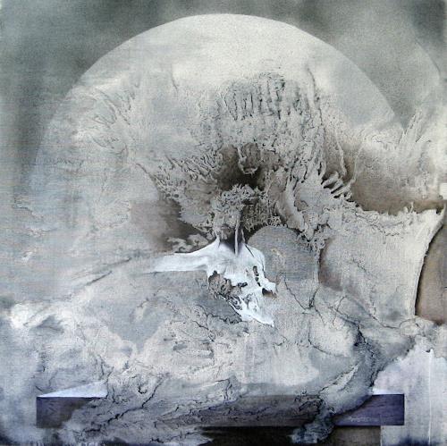 Werner Wenzel, Orpheus, Fantasie, Geschichte, Postsurrealismus, Abstrakter Expressionismus
