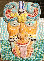 H. Salomon-Schneider, Mosaikmaske