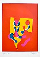 H. Salomon-Schneider, Spiel mit Formen