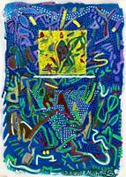Hans-Salomon-Schneider-Abstraktes-Moderne-Abstrakte-Kunst-Colour-Field-Painting