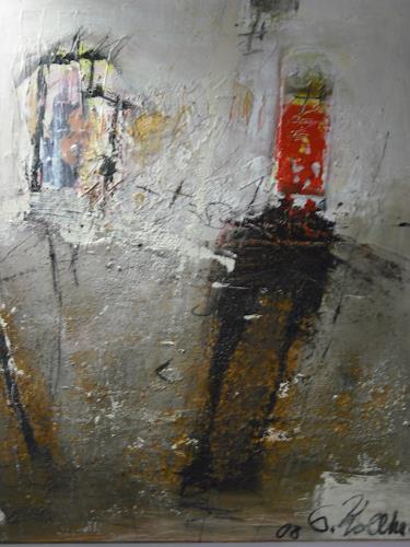 Acryl-Power, Meine Gedanken!?, Abstraktes, Fantasie, Neo-Expressionismus