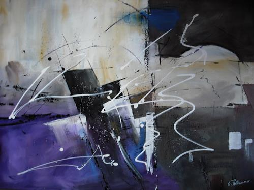 Acryl-Power, ???, Abstraktes, Bewegung, Abstrakte Kunst, Moderne