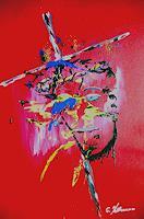 Acryl-Power-Geschichte-Mythologie-Moderne-Abstrakte-Kunst